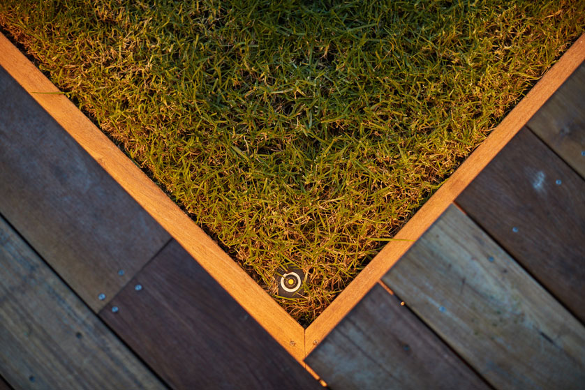 Outdoor lighting Greenhithe Auckland | Branche Landscapes